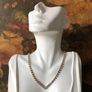 🔥 Vintage Rhinestone Necklace